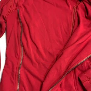 lululemon athletica Jackets & Coats - Lululemon Bhakti Jacket cranberry size 6